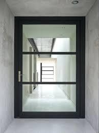 Front Door Designs With Glass Contemporary Glass Door Modern Entry
