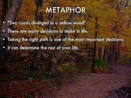 the road not taken by happylinlin metaphor