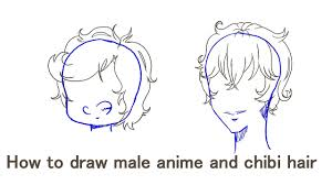 anime chibi drawing hair. Modren Anime For Anime Chibi Drawing Hair D