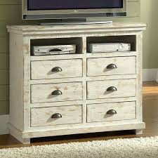 tv chest bedroom willow media chest distressed white