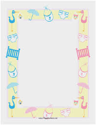 Microsoft Clipart Templates Microsoft Clipart Templates Fabulous Baby Shower Border Template Word