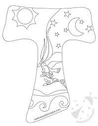 Tau San Francesco Disegno Clay Ceramic Efaplast L