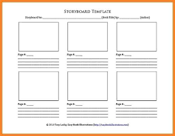 Storyboard Template Word 4 Best Images Of Story For Web Pages ...