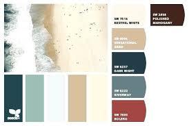 Inspiring Paint Color Palette H House Interior Paint Colors And Coastal  Summer Beach Tones Color Palette Beach House Decorating Home Interior Color  Sch