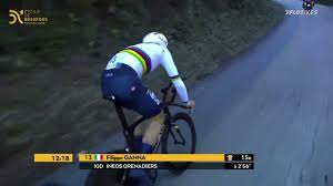 Filippo Ganna Smashes Uphill Time Trial - YouTube