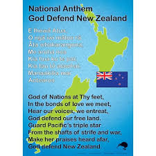 Anthem Chart Nz National Anthem Chart Learn Maori Maori Songs Maori