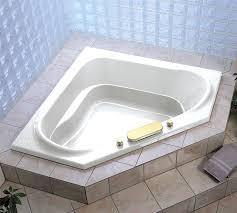 corner bath tub jacuzzi and shower intended for decorations 3