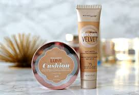 l oreal lumi cushion maybelline dream velvet foundation reviews