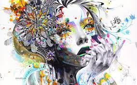 Abstract Women Wallpapers - Top Free ...