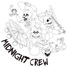 Free Printable Five Nights At Freddy S Coloring Pages Fnaf Showy Of