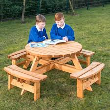 round picnic table with benches round junior height picnic bench large folding picnic table with attached round picnic table