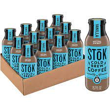 Great coffee speaks for itself: Amazon Com Stok Cold Brew Coffee Vanilla 13 7 Oz Bottle Pack Of 12 Grocery Gourmet Food