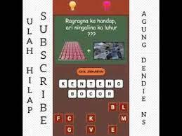 Download game tatarucingan sunda di google play store: Tatarucingan Sunda Level 3 Youtube