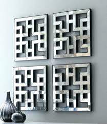 decoration mirrored frame wall art contemporary mirror vignette painting ideas home access center decoration s
