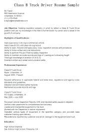 Ambulance Driver Resume Truck Driver Resume Examples Tow Resumes