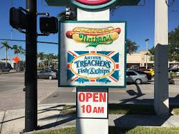 arthur treachers fish and chips nathans famous and arthur treachers fish and chips miami flickr