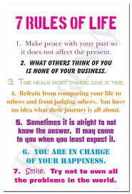 Buy 40 Rules Of Life And Get Free Shipping On AliExpress Cool 7 Rules Of Life Quote