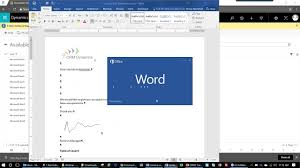 Excel Crm Templates Using Word And Excel Templates In Dynamics 365 Youtube