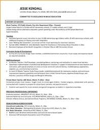 Teacher Resumes Examples Resume Example For Teachers Preschool Teacher Samples Free Music 22