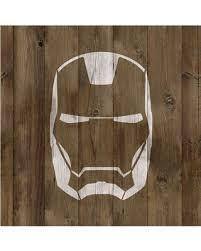 kid wallpaper usa mylar. Ironman Stencil On Reusable Mylar For Crafts, Kid Wallpaper Usa N