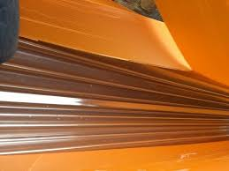 3 sheets of corrugated pvc sheet 3m x 950mm x 0 8mm from fix code 555fh
