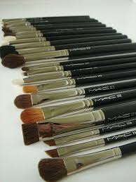 m a c brushes will serve you a lifetime aside from the labels wearing off the handles