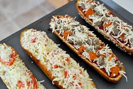 homemade french bread pizza. Contemporary Pizza Homemade French Bread Pizzas I Howsweeteatscom Inside Pizza C
