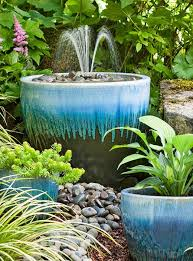 sea inspired water fountain ideas diy