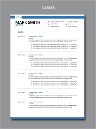 Modern Resume How Far Back Work History Work Career And Employment History Written For A Modern