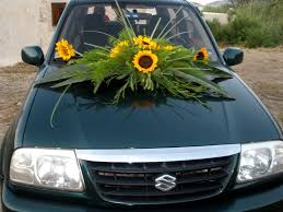 to enlarge image wedding car decorations 03 jpg