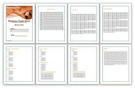 Ms Word Business Plan Template Business Plan Template Microsoft Office Salonbeautyform Com