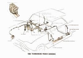 ford thunderbird i am current troubleshooting power windows full size image