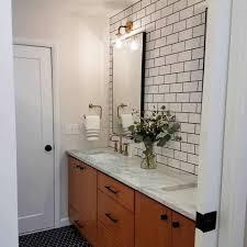 Modern bathroom remodel Simple Midcentury Modern Bathroom Remodel After From Capitol Kitchens And Baths Capitol Kitchens And Baths Midcentury Modern Bathroom Remodel After Capitol Kitchens And Baths