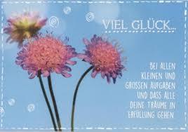 Postkarte Spruch Viel Glück Bei Allen Kleinen Und Großen Aufgaben