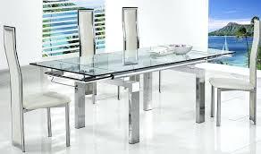 modern glass kitchen table. Plain Kitchen Modern Glass Dining Table Extendable Set New Ideas  Room Tables Stunning   On Modern Glass Kitchen Table