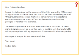 Thank You Letter Reference How To Write Thank You Letter For Recommendation How To Wiki