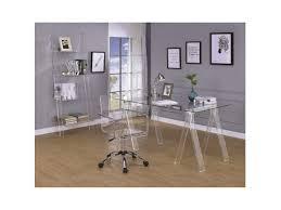 Image Acrylic Work Acrylic Office Desk Set Homesthetics Acrylic Office Desk Set Shop For Affordable Home Furniture Decor