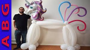 life size unicorns diy lifesize balloon unicorn party decoration tutorial idea awesome
