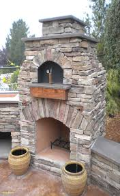 outdoor brick fireplace kits diy pizza oven plans free lovely outdoor brick fireplace with pizza