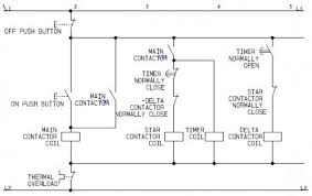 using star delta motor control (with circuit diagrams) turbofuture Wiring Diagram Of A Star Delta Starter star delta motor control circuit wiring diagram of a star delta starter