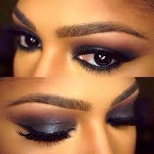 dark smokey eyeshadow for dark skin tone amazingmakeups