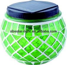 Solar Mosaic Garden Lights