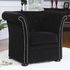 black high back accent chair by coaster 902032