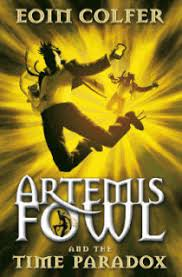 artemis fowl the time paradox book