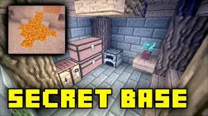 How To Make A Underground House Minecraft How To Build Secret Underground Entrance Base Tutorial