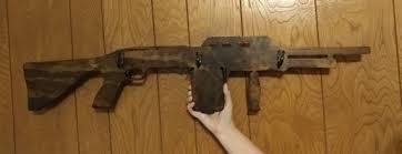 Gun Coat Rack Assault Shot Gun Coat Rack Hat Rack 24