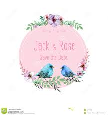 Birds Logo Wedding Stock Vector Image 58778885