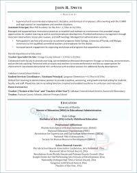 Resume Samples For Professors Publicassets Us
