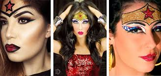 10 wonder woman makeup looks for s