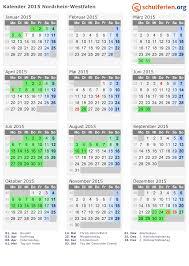 jahrskalender 2015 kalender 2015 ferien nordrhein westfalen feiertage